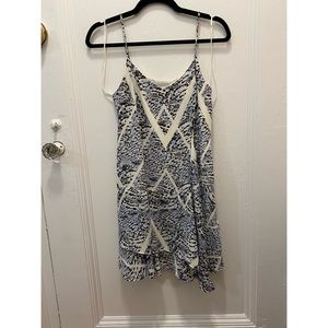 1.STATE printed dress